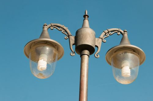 lamp post light fixture electric