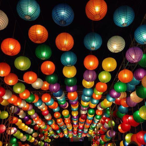 lampions lanterns chinese