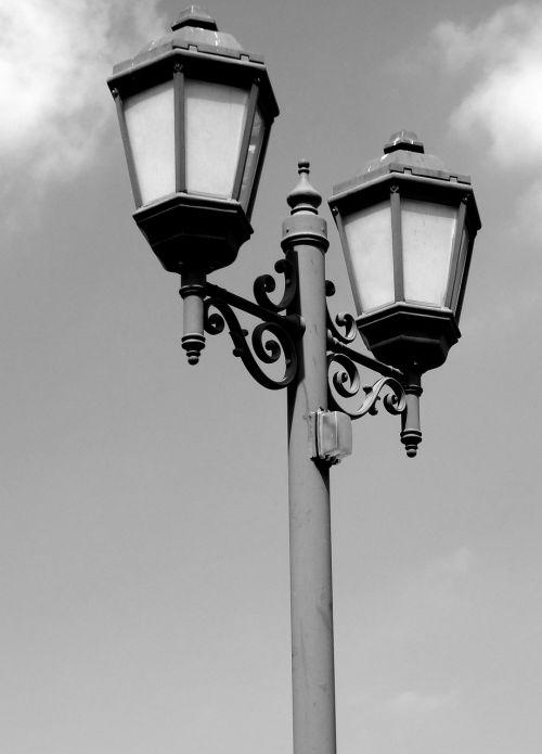 lamppost streetlamp decorative
