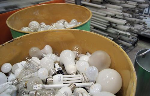 lamps recycling environment