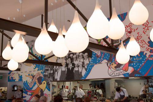 lamps interior design restaurant