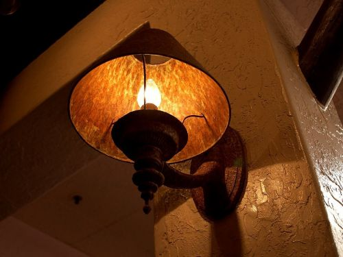lampshade lamp light