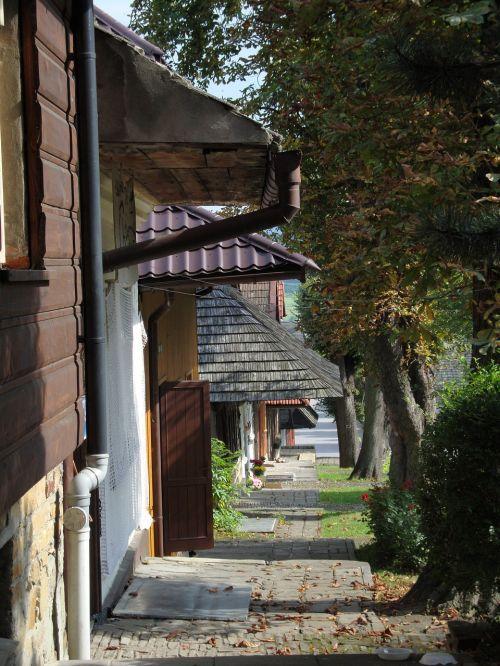 lanckorona poland architecture
