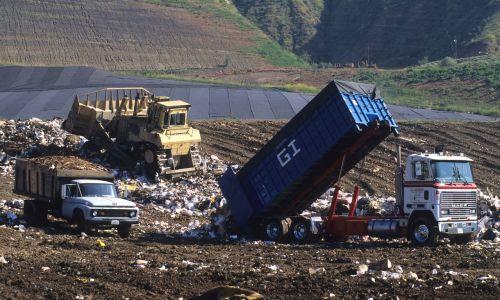 land fill trash dump
