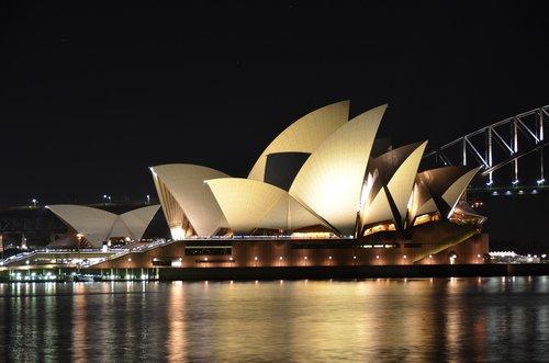 land mark  opera house  sydney