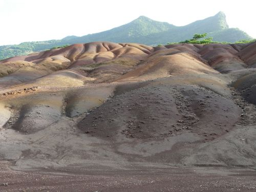 land of seven colors chamarel mauritius