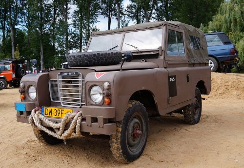 land rover local field