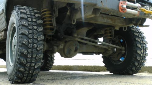 Land Rover Front Axle