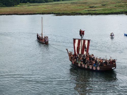 viking landing catoira