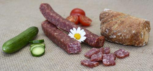 landjäger sausage sausages