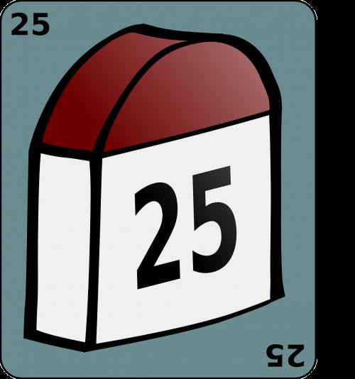 landmark milestone 25