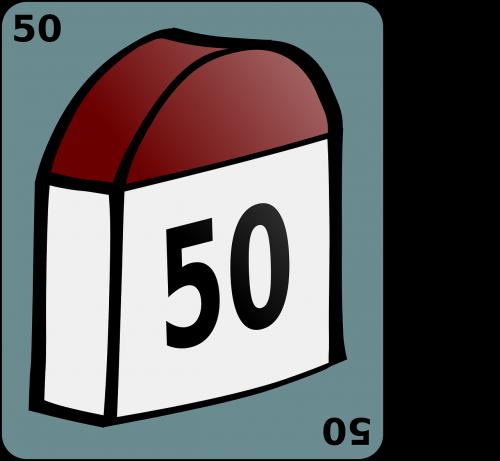 landmark milestone 50