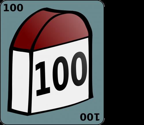landmark milestone 100