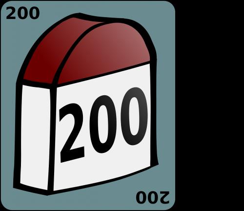 landmark milestone 200