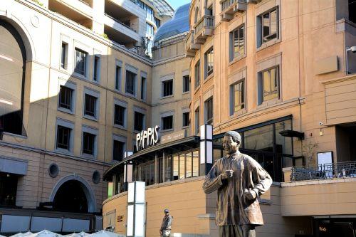nelson mandela statue johannesburg south africa