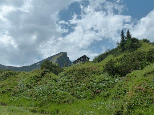 landsberger hut mountain hut hut