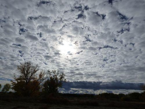 landscape sun clouds