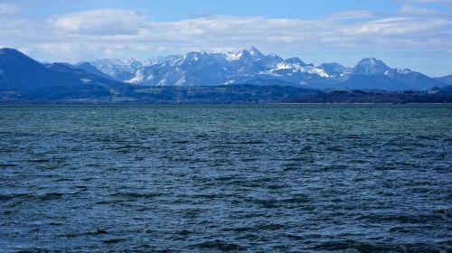 landscape chiemsee lake
