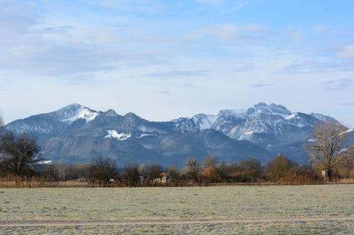 landscape chiemgau bavaria