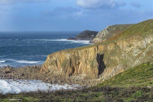 landscape cliff sea