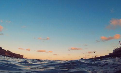 landscape,australia,clovelly,water,sea,rocks,blue landscape,beach landscape,sydney,nsw