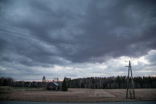 landscape finland barn