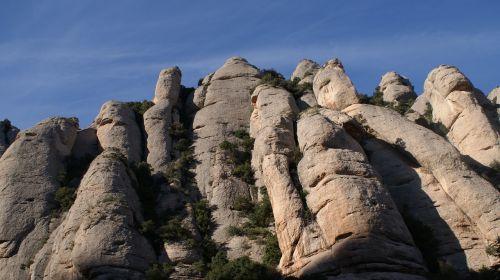 landscape monserrat catalonia