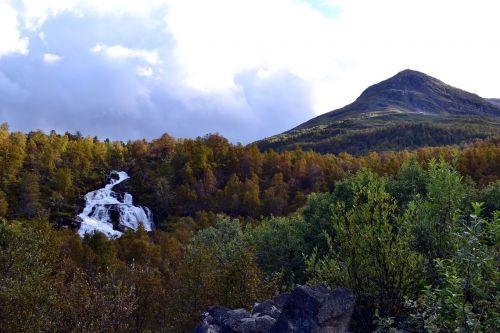 landscape view mountains