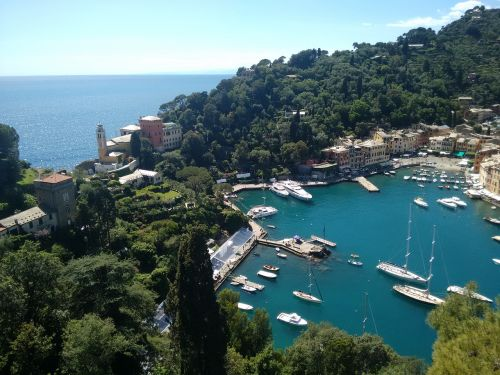 portofino italy fishing village