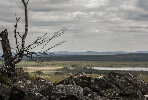 landscape nature lapland