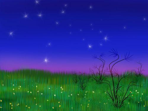 kraštovaizdis,dažymas,naktis,prasideda,abstraktus,menas,gyvas,spalvinga,vaizduotė,impresionizmas,menininko tapyba,gyvas,peizažas,dangus