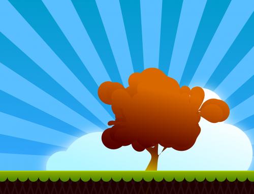 landscape tree autumn