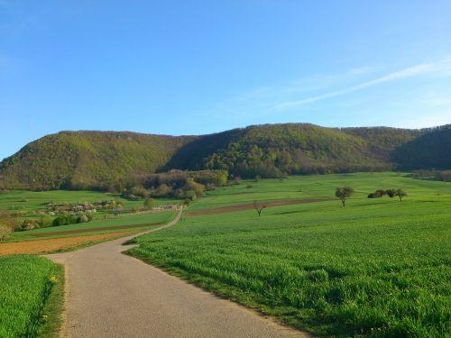landscape,nature,swabian alb,highlands,mountains