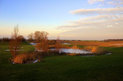 landscape lake pond