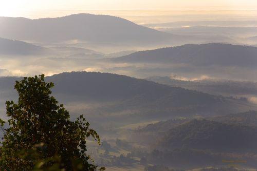 landscape blue ridge parkway mountains