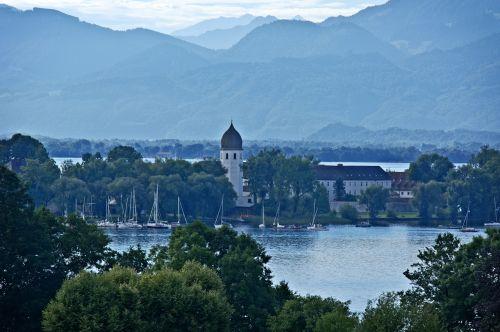 landscape bavaria chiemgau