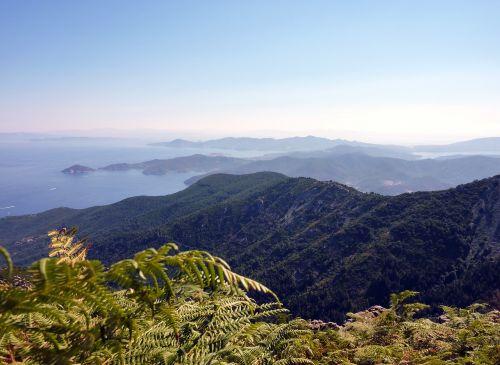 landscape good view tuscan archipelago