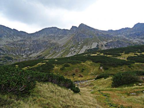 landscape mountains nature