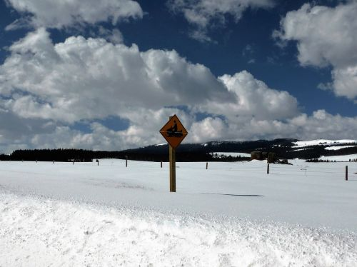 landscape snow sports