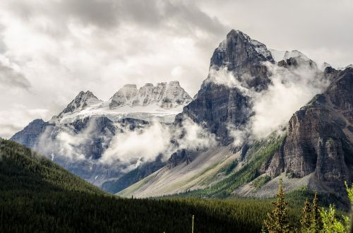 landscape mountain mountain peak