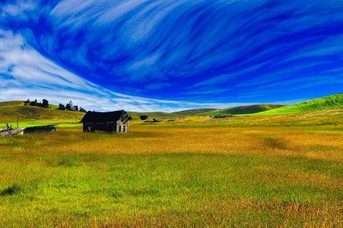 landscape scenic meadow