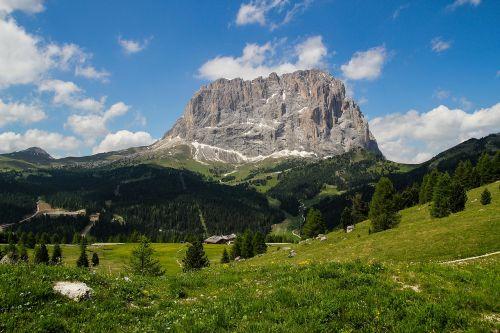landscape italy dolomite