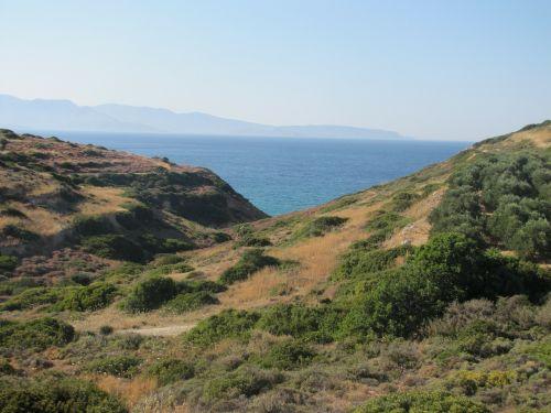landscape view mediterranean