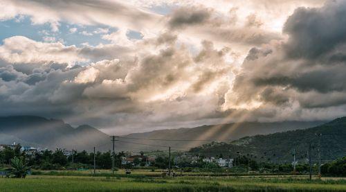 landscape rural taiwan