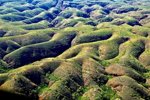 landscape hills rolling