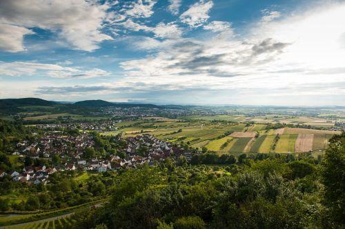landscape baden-würrtemberg clouds