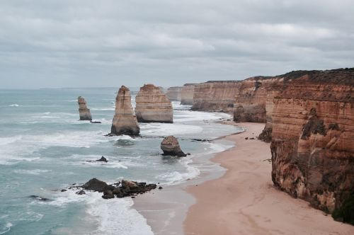 landscape scenic limestone stack formations
