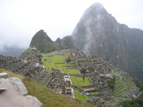landscape inca mountain
