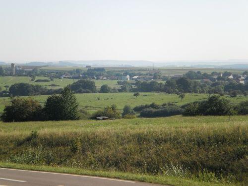 landscape moselle field