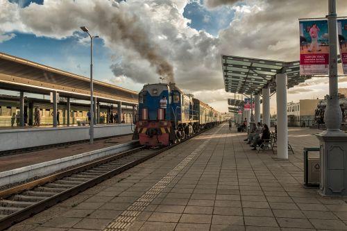 landscape mongolia ulaanbaatar station